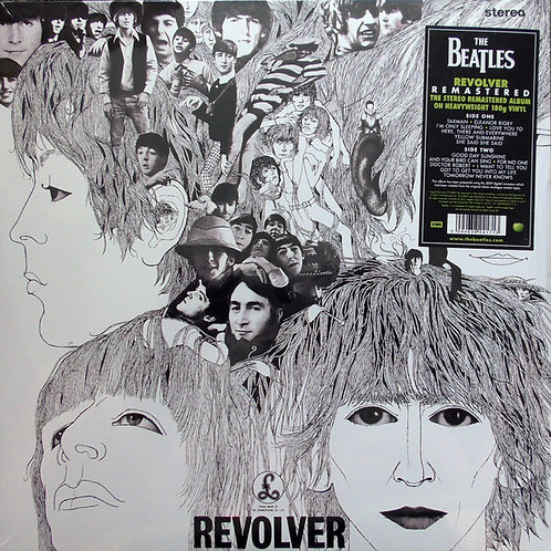 The Beatles Revolver 180gr remastered Front Cover