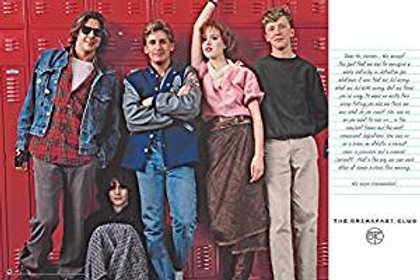 Breakfast Club The Letter Poster