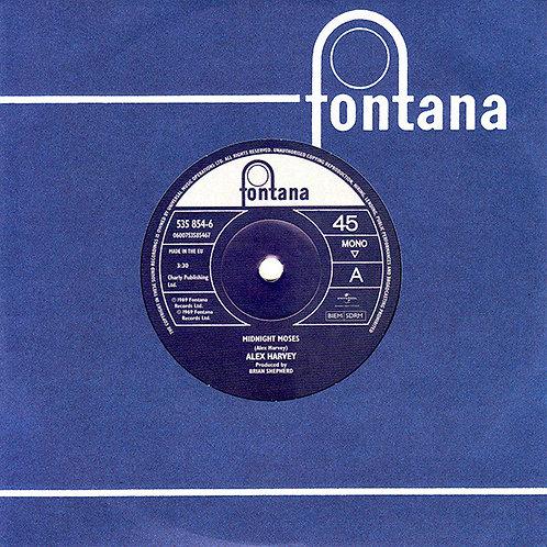 "Alex Harvey: Midnight Moses/ Jumpin' Jack Flash 7"" 45 RPM Record RSD"