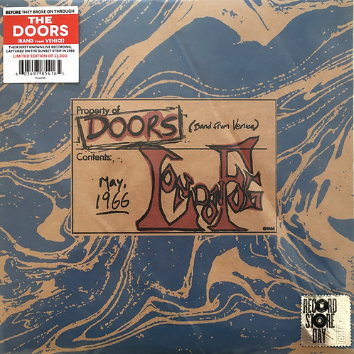 The Doors London Fog Front cover