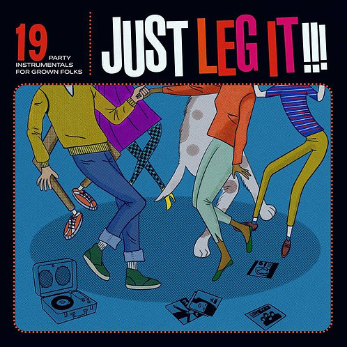 Just Leg It!!! 19 Party Instrumentals For Grown Ups Vinyl Record