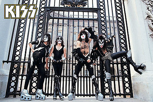 Kiss Buckingham Gates Poster