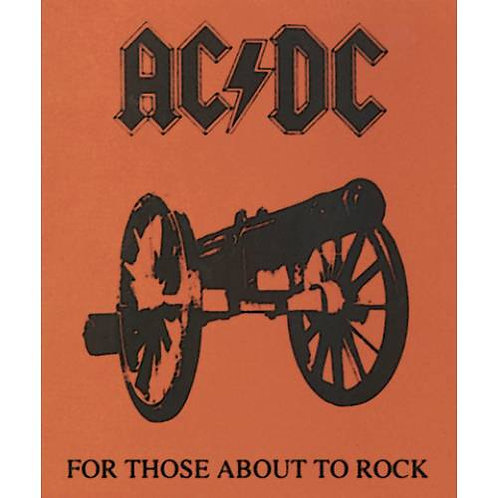 AC/DC For Those About To Rock Fleece Throw Blanket
