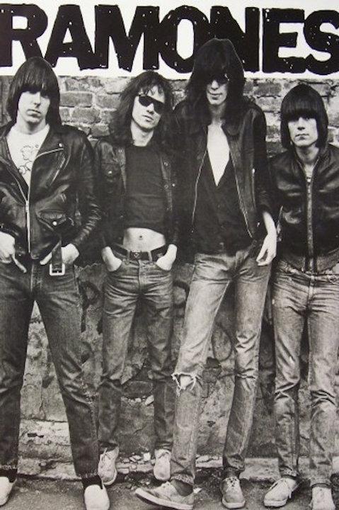 Ramones, The: S/T album Poster