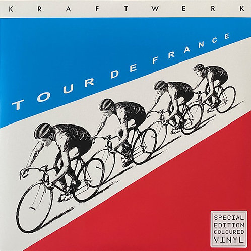 Kraftwerk: Tour De France  Blue Vinyl Record