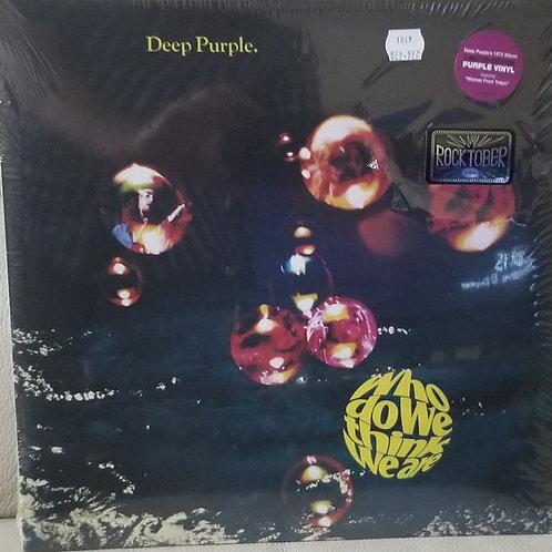 Deep Purple: Who Do We Think We Are  Purple Vinyl Record