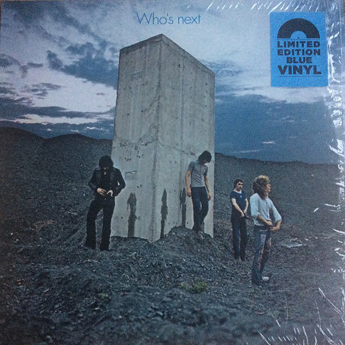 The Who: Who's Next Blue Vinyl Record Front Cover