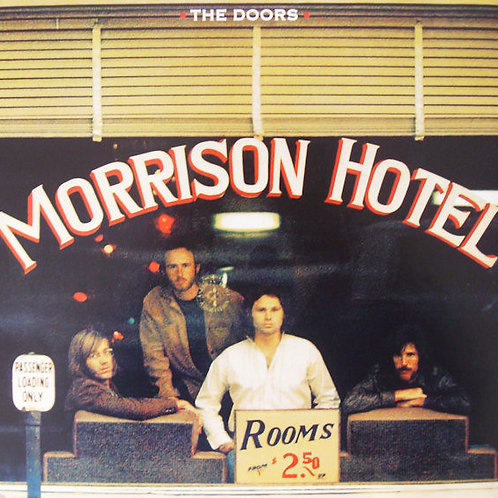 The Doors: Morrison Hotel Vinyl Record
