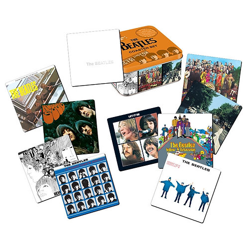 Beatles, The: 10 Piece Album Coaster Set