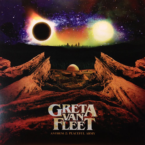 Greta Van Fleet Anthem Of The Peaceful Army Front Cover