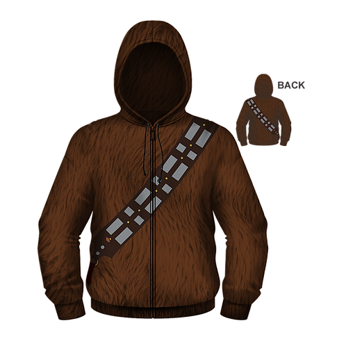 Star Wars Chewbacca Fur Hoodie