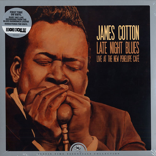 James Cotton Late Night Blues Live At New Penelope Cafe Vinyl Record Front Cover RSD