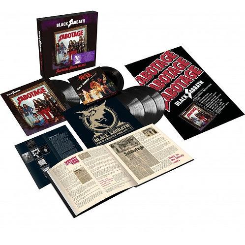 Black Sabbath Sabotage Deluxe Box Vinyl Record Set