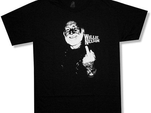 Willie Nelson Finger T-Shirt