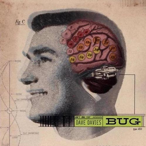 Dave Davies: Bug Pink & Yellow Vinyl Record