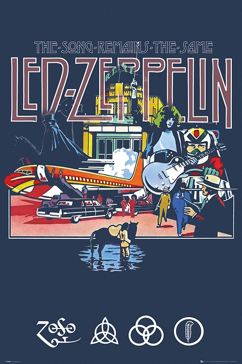 Led Zeppelin: The Song Remains The Same Poster