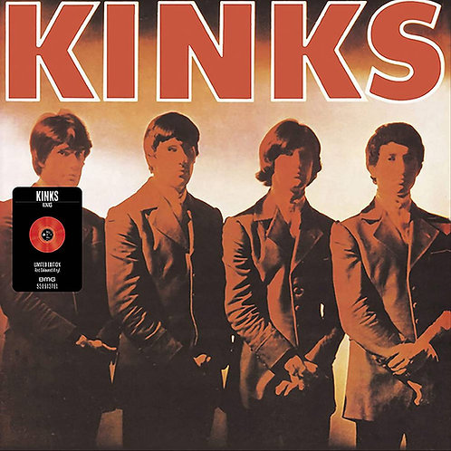 The Kinks S/T Red Vinyl Record