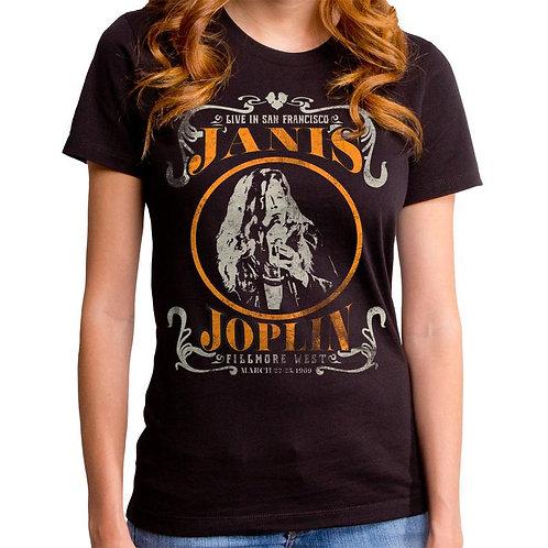 Janis Joplin Fillmore West T-Shirt