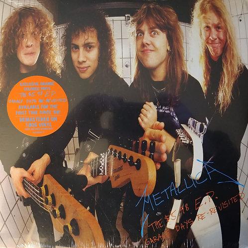 Metallica: Garage Days Re- Revisited Orange Vinyl Record