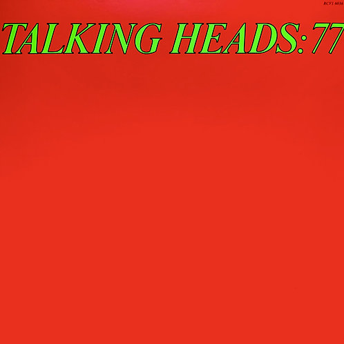 Talking Heads: '77 Vinyl Record