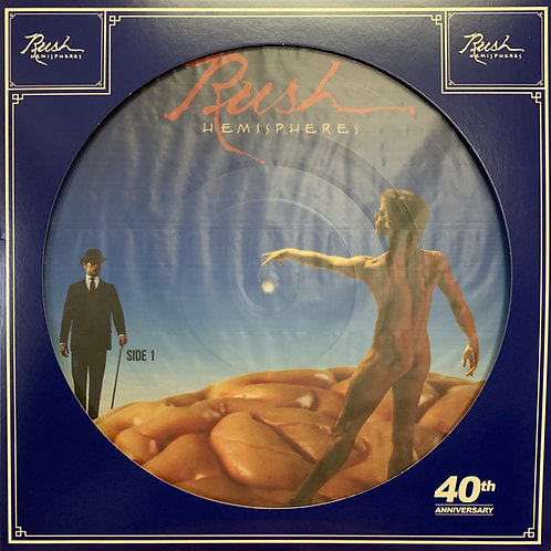 Rush Hemispheres 40th Anniverary Picture Disc Front