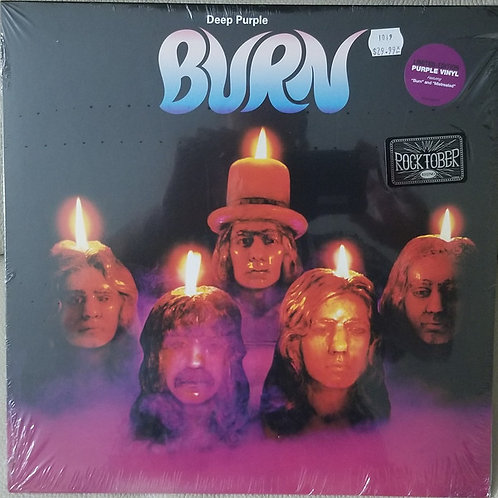 Deep Purple: Burn Vinyl Record (Purple Vinyl) Front COVER