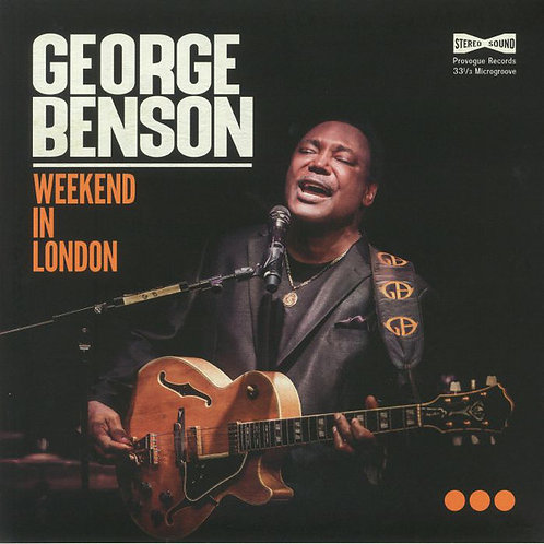 George Benson: Weekend In London Double Orange Vinyl Record