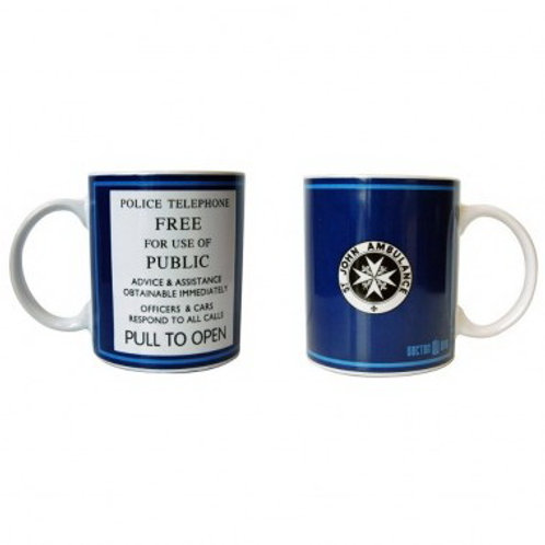 Doctor Who Tardis Police Box Coffee Mug