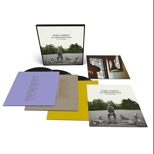 George Harrison 50th Anniversary 3 Vinyl Record