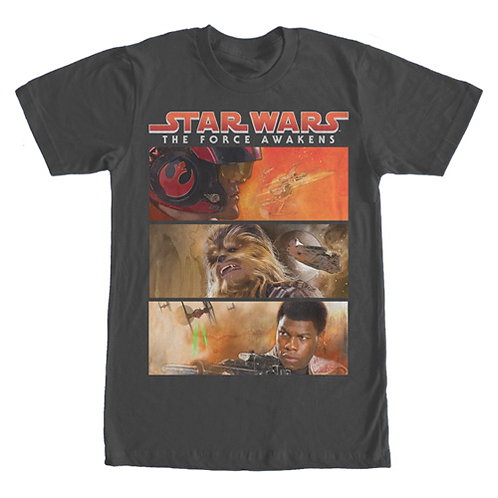 Star Wars: The Force Awakens Heroes Shirt