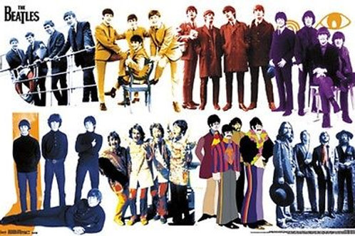 The Beatles: Timeline Poster