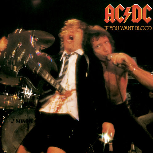 AC/DC: If You Want Blood, You've Got It Vinyl Record