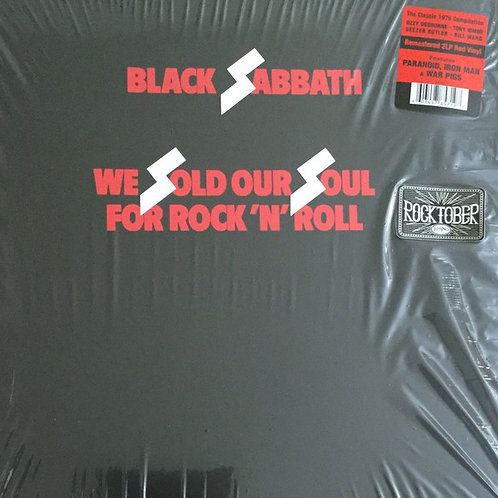 Black Sabbath We Sold Our Souls For Rock and Roll Front Cover