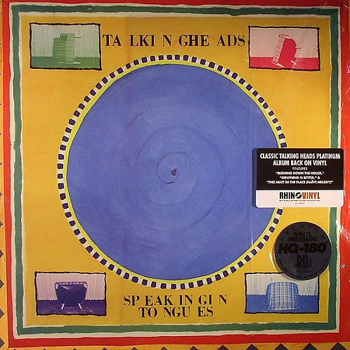 Talking Heads: Speaking In Tongues Vinyl Record
