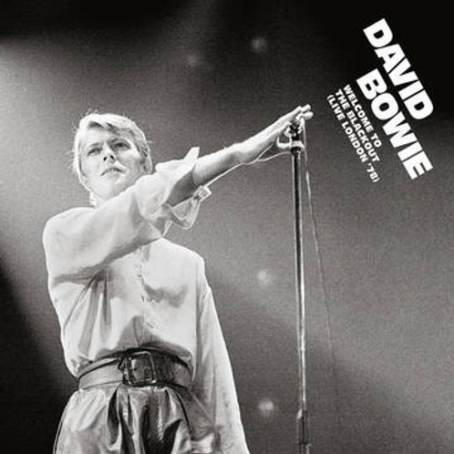 David Bowie Welcome To The Blackout front cover RSD