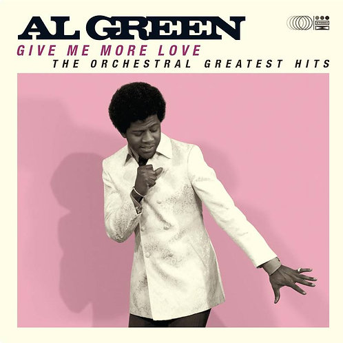 Al Green: Give Me More Love The Orchestral Greatest Hits Vinyl Record