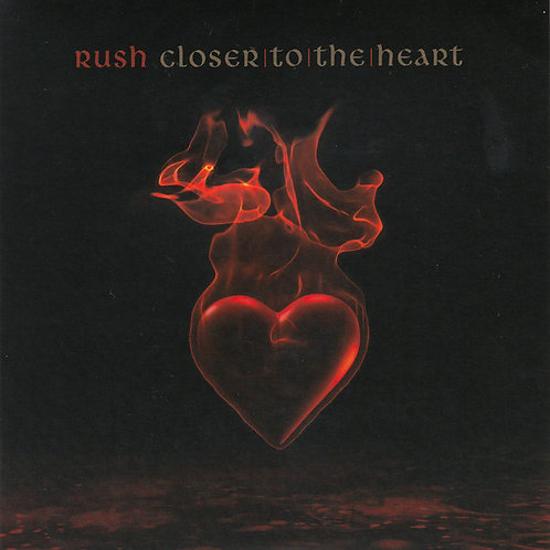 Rush: Closer To The Heart 45 RPM Vinyl Record