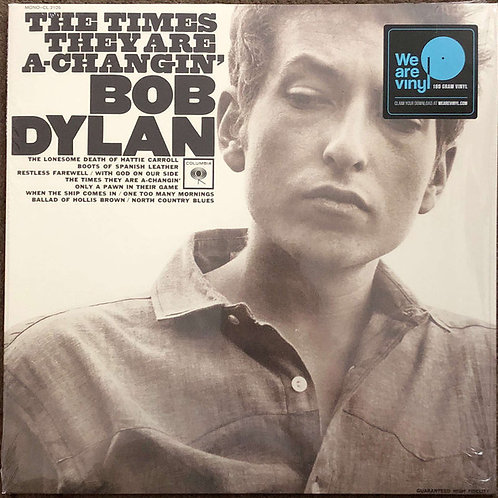 Bob Dylan: The Times They Are-Changin' Vinyl Record