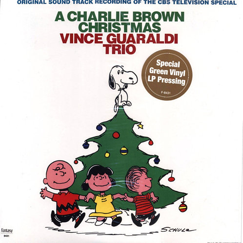Vince Guaraldi Trio: A Charlie Brown Christmas Vinyl Record Front Cover