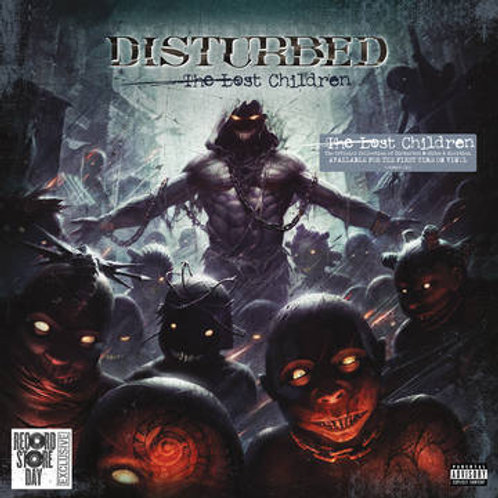 Disturbed The Last Children Vinyl Record front cover RSD