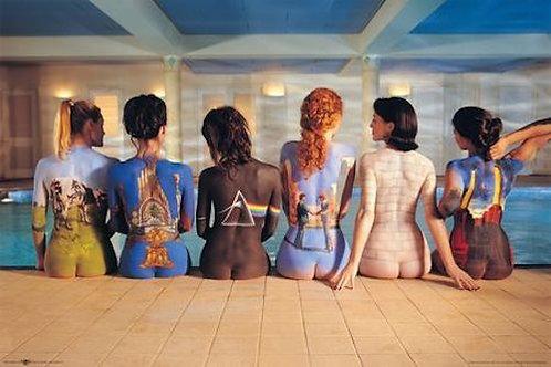 Pink Floyd Album Backs Poster