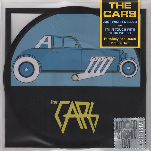 The Cars: Just What I Needed Picture Disc 7""