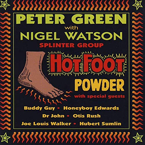 Peter Green Hot Foot Powder Front cover
