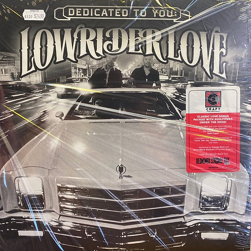 Lowrider Love: Dedicated To You Vinyl Record