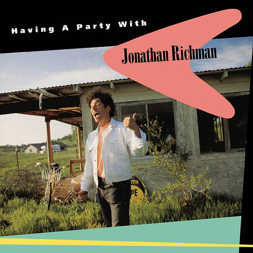 Jonathan Richman: Having A Party With Vinyl Record