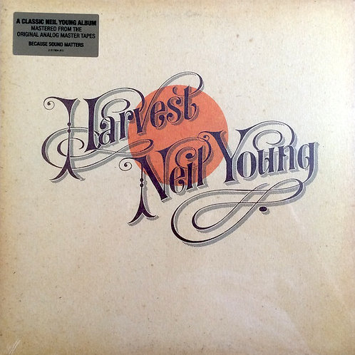 Neil Young Harvest 180gr vinyl record front cover