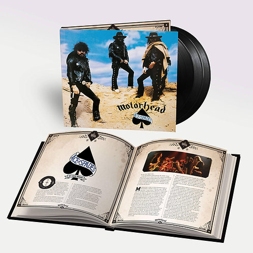 Motorhead: Ace Of Spades Expanded & Remastered Vinyl Record