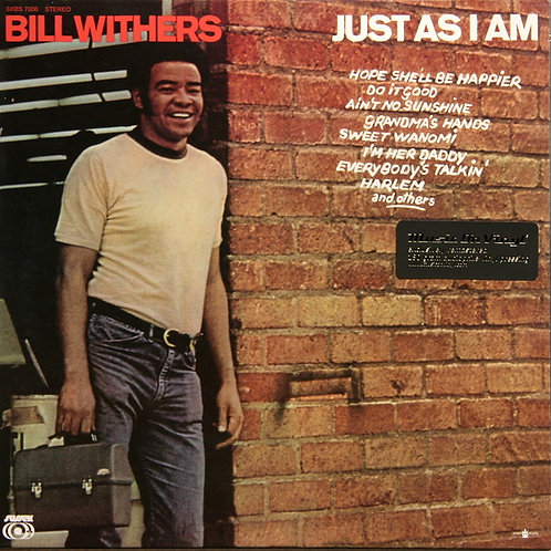 Bill Withers: Just As I Am 180gr Vinyl Record (MOV)