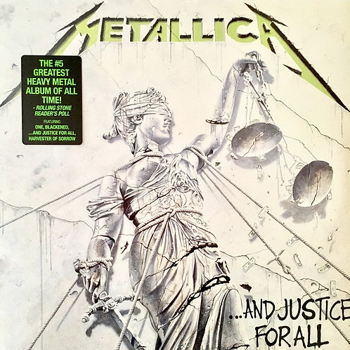Metallica ...And Justice For All  Vinyl Record