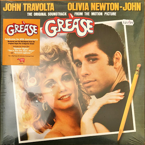 Grease Soundtrack front cover